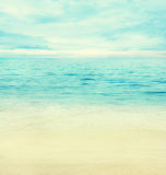 Océan d'été Images stock