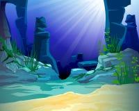 océan d'étage Images stock