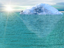 Océan d'iceberg Image stock