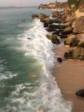 Océan dans la barre de Bali Rockbar photographie stock