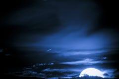 Océan de ciel Image stock