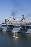 Océan de HMS images libres de droits