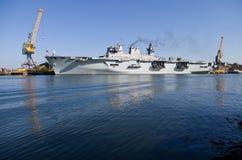 Océan de HMS photographie stock