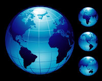 océan de la terre Image libre de droits