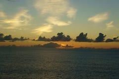 Océan de South Pacific Images libres de droits