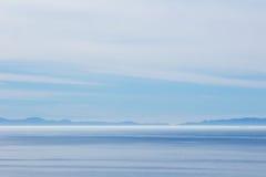 Océan et horizon Photographie stock libre de droits