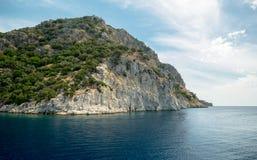 Océan et montagnes Images libres de droits