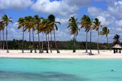 Océan et panorama de plage Photographie stock libre de droits