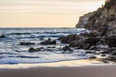 Océan et roches Photo stock