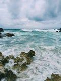 Océan mexicain Image libre de droits