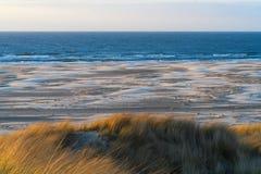 Océan, mudflat, dune photographie stock libre de droits