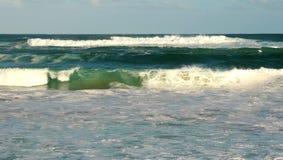 Océan orageux Photographie stock