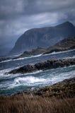 Océan orageux Photo stock