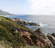 océan Pacifique de côte de la Californie image stock