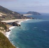 océan Pacifique de côte de la Californie photographie stock