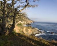 océan Pacifique de côte de la Californie Photographie stock libre de droits