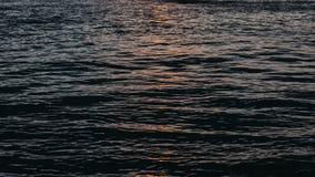 Océan pendant le matin avec la lumière faible, Australie photos libres de droits