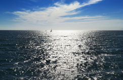 Océan sans fin Image libre de droits