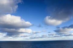 Océan scénique. Image stock