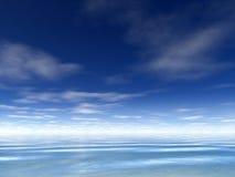 Océan - Terragen Images stock