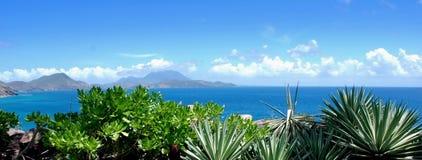 Océan tropical de mer d'horizontal   Image libre de droits