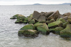 Océan vert frais photographie stock libre de droits