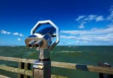 océan visitant le pays Image libre de droits