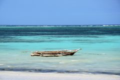 Océano Índico de la playa del mar el pequeño Imagen de archivo