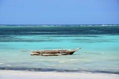Océano Índico de la playa del mar el pequeño Fotos de archivo libres de regalías