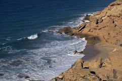 Océano Atlántico, Western Sahara Imagenes de archivo