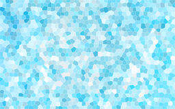 Océano azul, piscina, fondo abstracto cristalino del cielo stock de ilustración