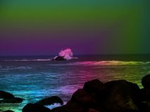 océano colorido Fotos de archivo