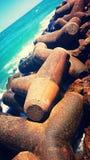 Océano concreto Fotografía de archivo