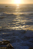 Océano de De Oro Sunset Fotografía de archivo libre de regalías