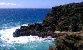 Océano de Hawaii Foto de archivo libre de regalías
