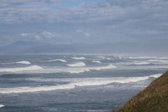 Océano de la montaña Imagenes de archivo