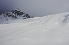 Océano de la nieve Fotos de archivo