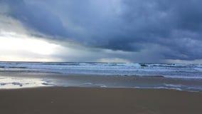 Océano de la tormenta fotos de archivo libres de regalías