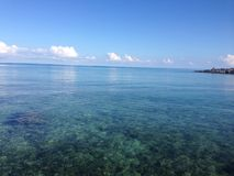 Océano de la turquesa, Bermudas Fotografía de archivo libre de regalías
