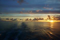 Océano de South Pacific Fotos de archivo libres de regalías
