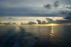 Océano de South Pacific Fotografía de archivo libre de regalías