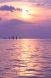 Océano de Tailandia Foto de archivo libre de regalías