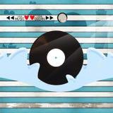 Océano del amor de la música del amor Foto de archivo libre de regalías