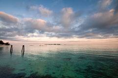 Océano del Caribe Imagen de archivo libre de regalías
