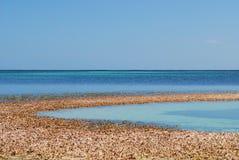 Océano del Caribe foto de archivo