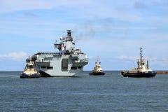 Océano del HMS que llega Sunderland, el 1 de mayo de 2015 Fotografía de archivo libre de regalías
