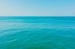 Océano del mar tranquilo Foto de archivo libre de regalías