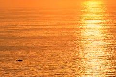 Océano del oro foto de archivo libre de regalías