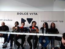 Océano Elzy - Dolce Vita Fotografía de archivo libre de regalías