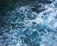Océano en la tormenta foto de archivo libre de regalías